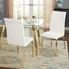 Gold Dining Chairs Gold Finish Kitchen Dining Room Chairs For Less Overstock