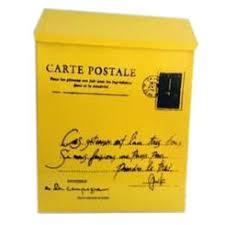 Yellow Decorative Box Small Metal Storage Lock Boxes