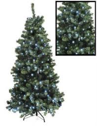 6ft christmas tree new large 6ft pre lit bright white led pine christmas tree green
