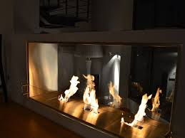 bioethanol fireplace insert firebox 1800db by ecosmart fire