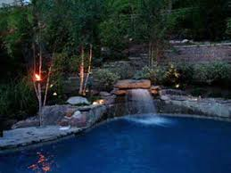 Pool Landscape Lighting Ideas Pool Landscape Lighting Ideas