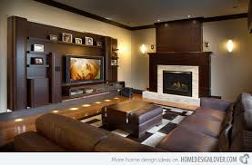 Modern Media Room Ideas - 15 modern day living room tv ideas home design lover