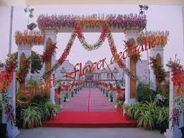 flower decoration exquisite design flower decoration for ganpati
