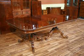 reproduction french style mahogany dining or conference table