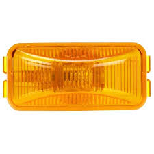 truck lite marker lights amazon com truck lite 15200y model 15 rectangular sealed yellow