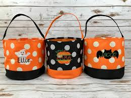 Personalized Halloween Shirts Trick Or Treat Bag Trick Or Treat Bucket Halloween Bucket