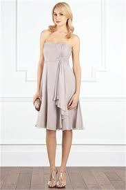 symphony short dress grey wedding dress from coast bridesmaid