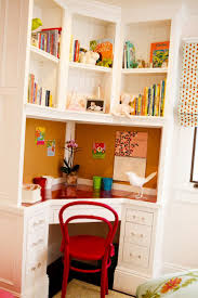 built in corner desk good space saver for a small room could be