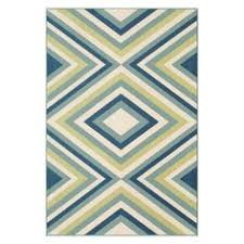 Jaipur Barcelona Indoor Outdoor Rug Jaipur Barcelona I O Hoja Abstract Pattern Blue Indoor Outdoor