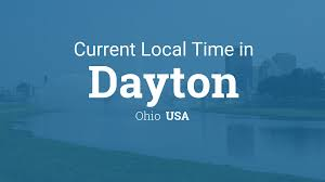 Ohio Time Zone Map by Current Local Time In Dayton Ohio Usa