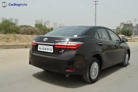 lexus corolla 2017 toyota corolla altis test drive review 3 carblogindia