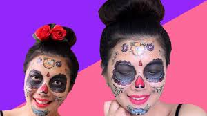 halloween costumes with tattoos 1 day of the dead costume tattoos face tattoos for halloween