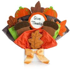 happy thanksgiving cookie bouquet thanksgiving turkey cookies