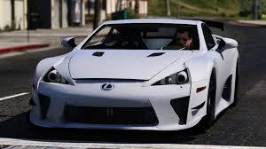 lexus sport car lfa gta v lexus lfa nurburgring package mod youtube