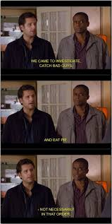 Psych Meme - so that s why shawn is always making up names like mc clap yo hands