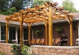 wood pergolas u2013 gorgeous gazebos