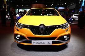 renault sport rs 2018 renault mégane rs makes debut spicier trophy model already
