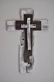 rustic crosses rustic white cross one of a reclaimed wood cross turquoise