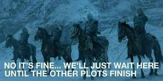 White Walker Meme - game of thrones memes on twitter white walkers next week