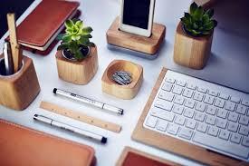 desk accessories from grove made desk interior design ideas