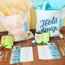 destination wedding favors aloha welcome bags for a destination wedding in mexico