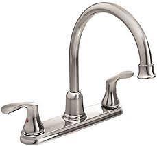 2 handle kitchen faucet moen 40617 cornerstone 2 handle kitchen faucet chrome ebay