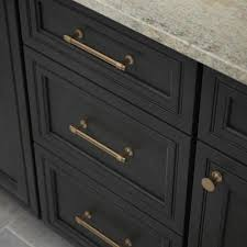 brass and black kitchen cabinet hardware brass drawer pulls cabinet hardware the home depot