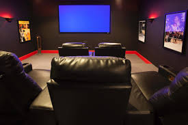 home theater seating atlanta at home with atlanta falcon william moore hgtv