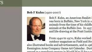 Bob F by Bob Kuhn 1920 2007 Ackermans
