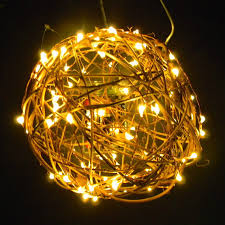 Anc Home Decor 50 Fairy Lights On 9 Ft String Lights Of Copper Or Silver Wire