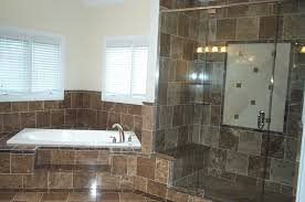 ceramic drop in bathtub deck bathroom remodels ideas rustic mosaic