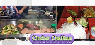 cuisine bayonne volcano order bayonne nj 07002 sushi