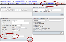 sql create table primary key autoincrement reset the auto increment value for a mysql table electric toolbox