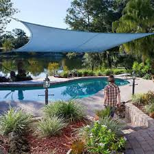 square lshade coolhaven 12 square shade sail with fixing kit option