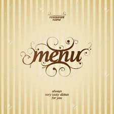 Designs Of Menu Card Menu Card Templates Virtren Com