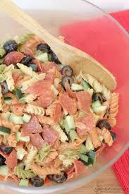 Pasta Salad Recipies by 5 Ingredient Italian Pasta Salad Recipe