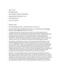 sample letter explaining financial hardship letter idea 2018