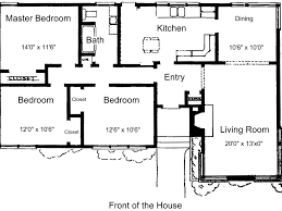 home design three room small house plan dwg net blocks and pan
