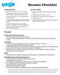 what not to write in a resume how to write a high school resume the small town top college blog resume building checklist from upop at mit