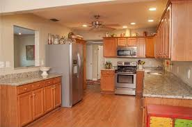 kitchen ceiling fan ideas traditional kitchen with raised panel ceiling fan in