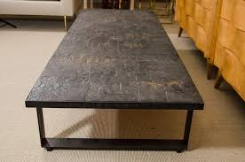 Slate Top Coffee Table Living Room Design With Black Slate Top Coffee Table With Black