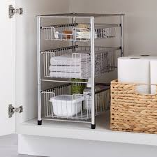 cabinet pull out shelves kitchen pantry storage pull out pantry shelves the container store