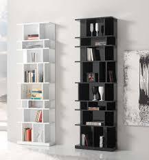 splendid white modern bookcase 89 contemporary white bookcase uk
