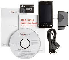 amazon com lg dare black verizon wireless cell phones