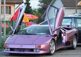 lamborghini purple lamborghini 30th anniversary lavender metallic purple colors