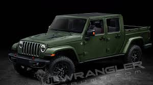 new jeep truck 2018 2018 jeep wrangler scrambler pickup name and diesel engine option