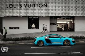 Audi R8 Matte - matte blue audi r8 20