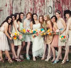 mix match bridesmaid dresses mix and match bridesmaid dresses wedding ideas brideology