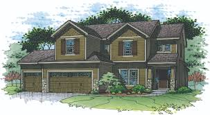 benson place floor plans hunt midwest kansas city aspen homes birch floor plan front elevation