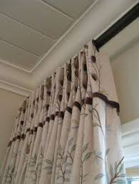 Sewing Draperies A Cute Way To Hang Curtains Just Sew On Ribbons And Tie Them To